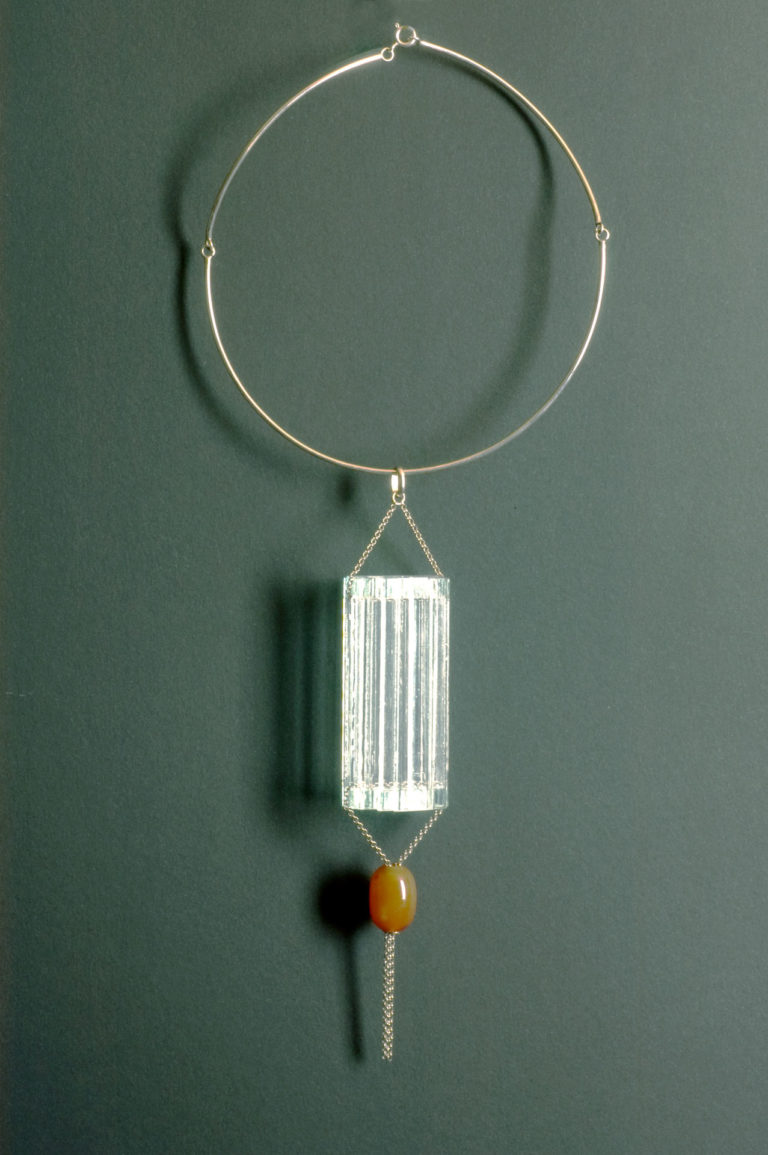 Necklace - with agate