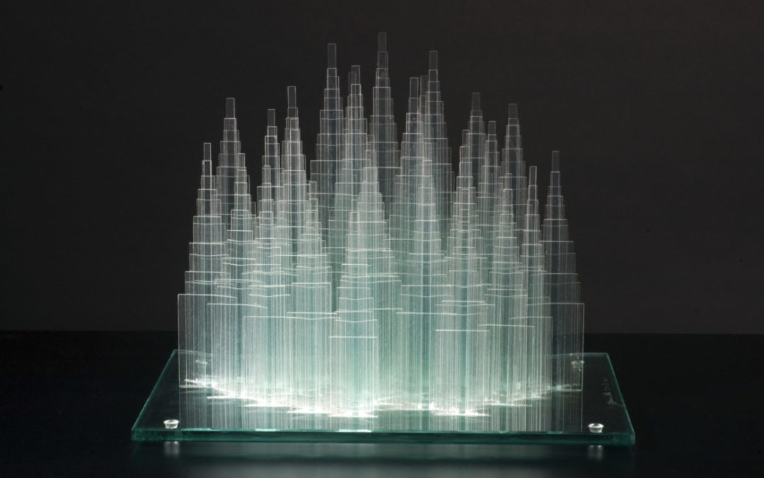 Ōki Izumi. Concept and stratification in the glass sculpture project